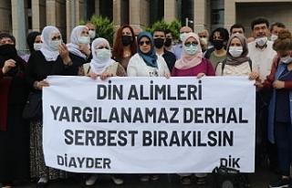 DİK ve DİAY-DER üyelerinin serbest bırakılması...
