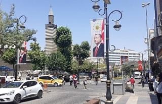 Diyarbakır'da Erdoğan ablukası