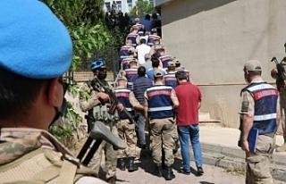 """Diyarbakır'da """"örgüte finansman sağlandığı""""..."""