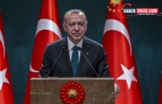 Erdoğan'dan sel açıklaması: Eskiden, dikey...