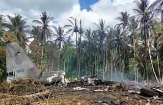Filipinler'de uçak kazasında ölü sayısı 50'ye...