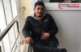 İnşaattan düşen Van YYÜ öğrencisi Diyarbakırlı...