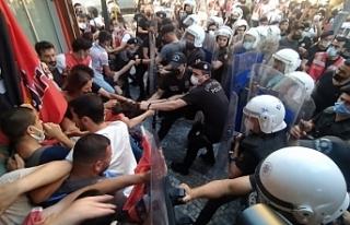 Ankara İstanbul ve İzmir'de Suruç anmasında...