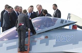 Rusya: Türkiye'ye Su-35 ve Su-57 satışını...