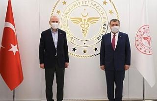 Süleyman Soylu ve Fahrettin Koca'yı karşı...