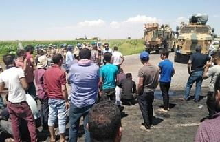 Çiftçilere müdahale: 2 yaralı, 7 gözaltı