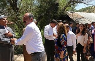 DTK ve DBP heyeti sınırda: Kürtler yüzyıllardır...