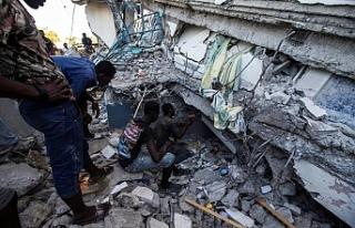 Haiti'de 7.2 büyüklüğündeki depremde can...