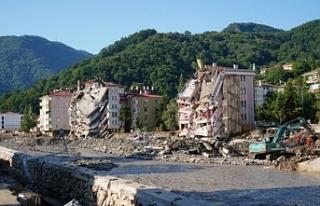 Sel bölgesinde 109 bina için acil yıkım kararı