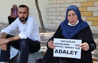 Şenyaşar ailesi: Suça ortak olmayın