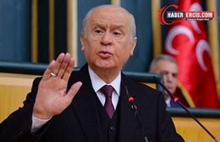 Bahçeli: Türkiye'de Kürt sorunu diye bir sorun...