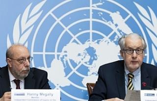 BM Suriye Soruşturma Komisyonu: Savaş suçu devam...