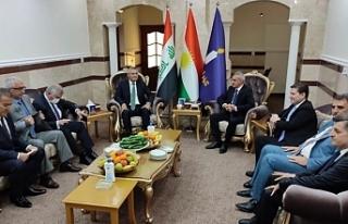CHP heyetinin Federe Kürdistan'daki temasları...