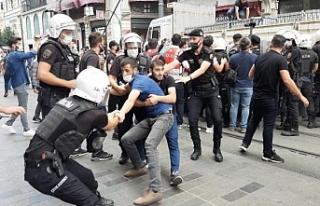 """İstanbul'da """"barışa"""" yasak sürüyor:..."""