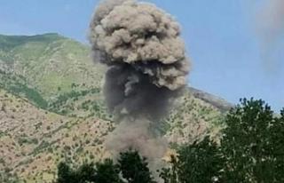 TSK, Şengal'in Barê köyünü bombalandı