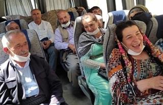 Van'daki barış mitingi için yola çıktılar:...