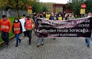 '10 Ekim AKP'nin en büyük kanlı katliamıdır'