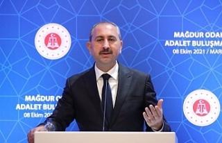 Adalet Bakanı Gül: Kesinleşmiş yargı kararı...