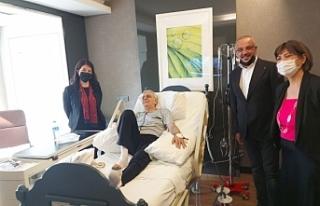 HDP Eş Genel Başkanı Buldan, Türk'ü ziyaret...