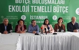 HDP'nin 'Bütçe Buluşmaları' İstanbul'da:...