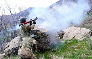 Roketatarlı saldırıda 1 asker hayatını kaybetti