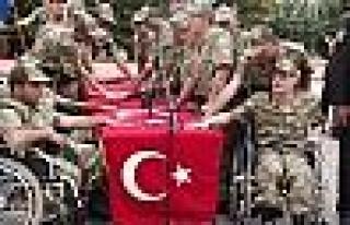 Malatya'da 53 Engelli, Temsili Askerlik Yaptı