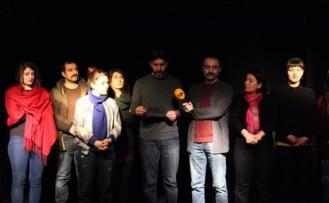 Kürt tiyatroculardan 'yasak' tepkisi