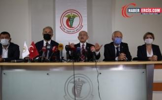 Kılıçdaroğlu'ndan TTB'ye ziyaret: Gerçekleri söyledikleri için hedefteler