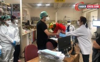 Sağlık emekçilerinin saldırıya uğradığı hastaneye ziyaret