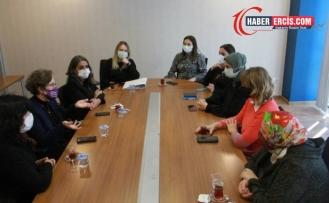 HDP Kadın Meclisi'nden DEVA Partisi'ne ziyaret