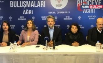 HDP'den Ağrı buluşması: Saray bütçesine karşı halkın bütçesi