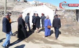 HDP'den deprem bölgesine ziyaret
