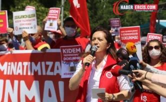 Çerkezoğlu: Kıdem tazminatı genel grev gerekçemizdir