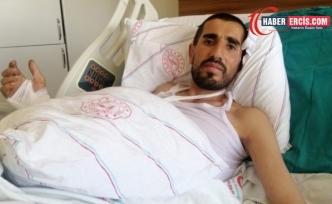 Van'da yaralı kurtulan Yılmaz: Erhan'ı gözümün önünde vurdular