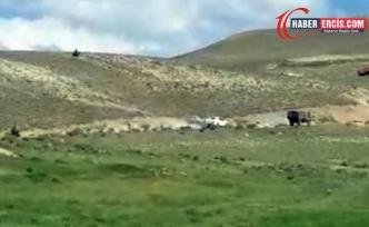 Çaldıran'da silahlı sivil bir ekip köylülerin üzerine ateş açtı