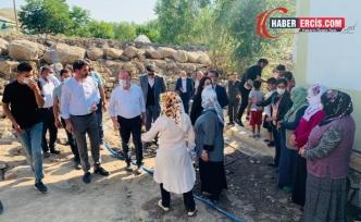 HDP'li Heyet Erciş'te Esnaf Ziyaretinin Ardından Sel Bölgesinde İncelemelerde Bulundu