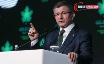 Davutoğlu: Türk Lirası'nı bu seviyeye düşürenler ihanet içerisindeler