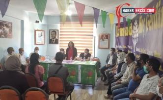 DTK ve DBP heyeti Erciş ve Çaldıran'da ziyaretlerde bulundu
