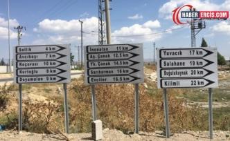 Çaldıran'da Kürtçe tabelalar söküldü