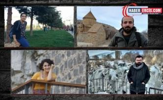 Van'da gazetecilerin tutukluluğuna itiraz
