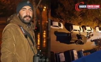 Van'da gözaltına alınan Gazeteci Karataş Erzurum'a götürüldü