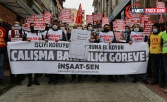 Kayı işçileri hükümete seslendi: Ödülümüz sürünmek miydi?