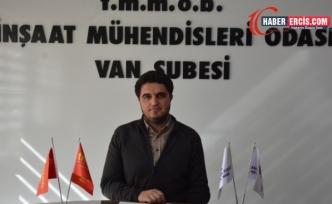 Van'da İMO'dan 'Her Şantiyeye Bir Şef' kampanyası