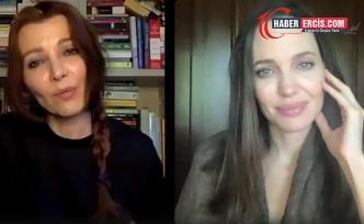 Angelina Jolie Türkiye'nin Sözleşme'den çıkmasını Elif Şafak'la konuştu