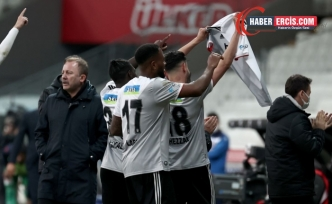 Beşiktaş, Alanyaspor'u 3-0 mağlup etti
