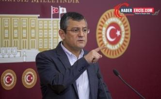 Özel'den Erdoğan'a: Sen de suç işleri baknının peşine takılma