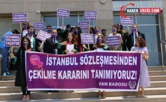 Van Kadın Hakları Komisyonu: İstanbul Sözleşmesi'nden vazgeçmiyoruz