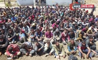 Van'da TIR'ın içinde yakalanan 300 mülteci sınır dışı edilecek