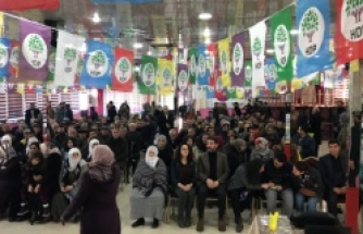 HDP Erciş İlçe Başkanlığı 3.'cü Olağan Kongresi yapıldı