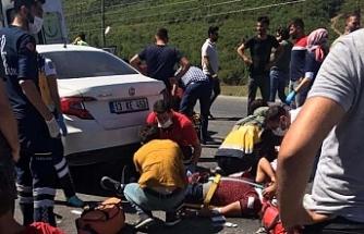 Bitlis'te trafik kazası: 6'sı çocuk 11 yaralı